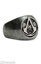 MEDIUM SIZE - Assassins Creed Master Assassin Ring with ORIGINAL BOX - Very RARE