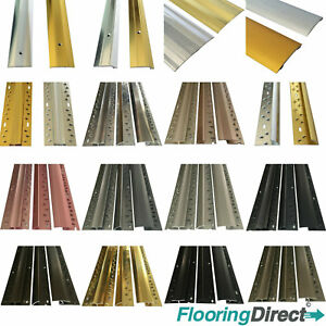 Carpet Metal Cover Strip Door Bar Trim 900mm Threshold Brass Silver Grey 90cm