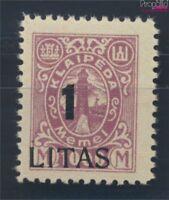 Memelgebiet 203 postfrisch 1923 Aushilfsausgabe (8731661