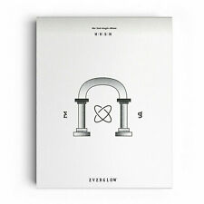 EVERGLOW HUSH (2nd Single) CD+Photobook+Poster+Tracking No.
