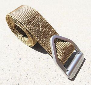 Military / Police / Tactical / Urban Heavy Duty Adjustable Canvas Web Belt