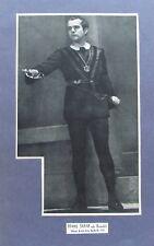 Hans Jaray als Hamlet - alter Druck ca 1935 Theater Schauspieler Regisseur