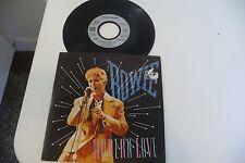 "DAVID BOWIE 45T MODERN LOVE. FRENCH PRESS SILVER LABEL EMI. 7"""