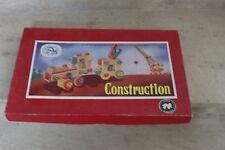 jeu de construction jura castor (78 pièces en bois) ref 704/1