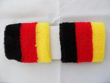 Pulsbänder Deutschland 2er Set Schweißbänder , Junior Wrist Band WM 2018