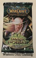 WOW Dark Portal Booster Pack from Box NEW World of Warcraft Trading Card Game