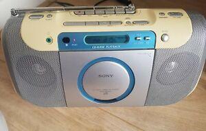 Sony CFD-E100L Radio/Cassette/CD Boombox -
