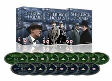 Sherlock Holmes The Complete Collection DVD Jeremy Brett Brand New and Sealed