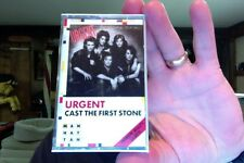 Urgent- Cast the First Stone- new/sealed cassette tape