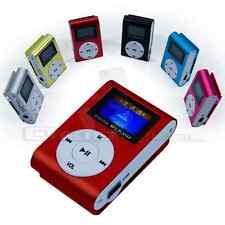 REPRODUCTOR LECTOR MP3 PLAYER RADIO FM ALUMINIO MINI USB MICRO SD 8GB CASCOS