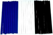 Colla a caldo 27 Strisce adesive blu bianco nero circa 530 Grammi 200x11,3mm EVA
