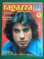 RAGAZZA IN n.13 1979 (ITA) con SUPER POSTER JOHN TRAVOLTA Rivista Magazine
