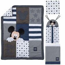 Disney Mickey Mouse Hello World 4 Piece Crib Bedding Set - See Details 👓