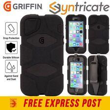 GRIFFIN SURVIVOR ALL-TERRAIN RUGGED TOUGH CASE FOR IPHONE SE 5S 5 - BLACK