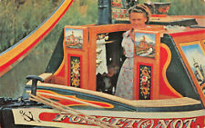 R243816 Britains Inland Waterways. A traditionally painted narrow boat cabin. Sa