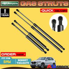 4x For BMW X5 E53 2000-2006 Bonnet  & Tailgate Gas Struts Off-Road Vehicle