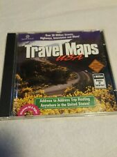 Travel Maps USA Trip Planner PC CD ROM For Windows 95 Or Higher