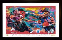 MIKE TYSON L.E. 98/99 ART PRINT ARTWORK SIGNED BY ARTIST TO STARS, WINFORD