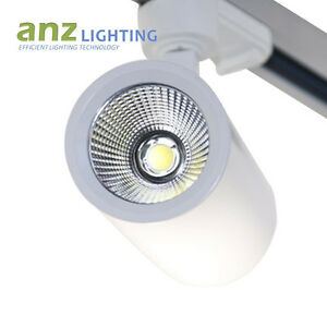 35W Track Lighting Single Circuit 3 Wire 38 Degree Bean Angle Spotlight