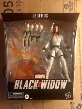 Marvel Legends Black Widow 6In Deluxe White Costume Action Figure
