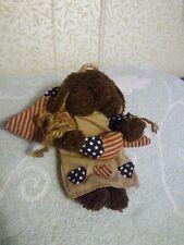 Wang International Patriotic Angel - 6 Inch Plush Bear - So cute!