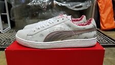 Brand New DS Puma Yo MTV Raps Gray Silver Red Pink Suede sz 11