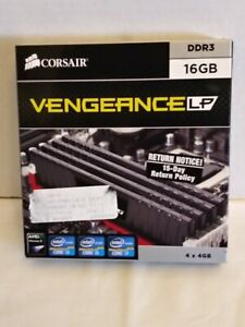 CML16GX3M4A1600C9B Corsair Vengeance 16GB Kit (4 X 4GB) PC3-12800 DDR3-1600MHz