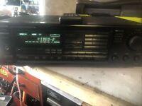 Onkyo TX-904 Receiver w/Remote Quartz Vintage Phono Inputs 1991 TESTED