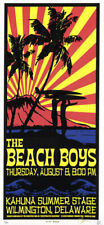 Beach Boys Kahuna Summer Stage Wilmington Delaware 2002 Poster Scott Benge Fgx