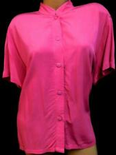 Go fish clothing & jewelry co. pink short sleeve plus size button down top XXL