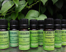 Essential Oils 10ml Bottles 100% Pure Aromatherapy Oils - Various Oils Available