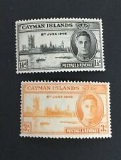 Cayman Islands Victory 1946 MH