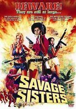 SAVAGE SISTERS UNCUT!--- Blaxplotation 70'S BLACK CLASSICS NEW DVD