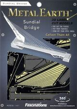 Sundial Bridge Turtle Bay California USA Metal Earth 3D Model Kit FASCINATIONS
