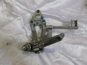 2. Kawasaki GPX 750 R ZX750F Footrest Holder With Foot Rest Rear Left Holder