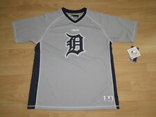 Detroit Tigers Pullover Team Jersey Men's Size XL - Fully Stitched Logo