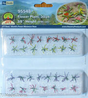 "JTT Scenery Products #95548 Flower Plant (30 in pkg) 3/8"" Height (HO Scale)"
