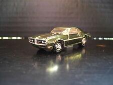 1968 Pontiac Firebird 400 Gold Chrome w/ Rubber Tires Loose 1/64 Die Cast