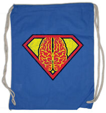 Superbrain Turnbeutel Fun Nerd Teacher Gehirn Superhirn Informatiker Lehrer