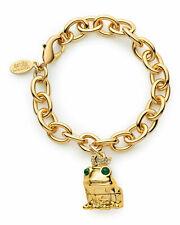 Estee Lauder Pure Color Crystal PINK Lipstick Loving Frog Charm Bracelet 2016 NW
