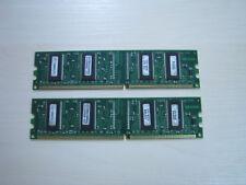 Unigen DDR1 256MB (2 X 128MB) PC2700 DDR-333 184pin Memory TEST OK!