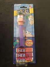 Disney Phineas and Ferb Lot of (4) Different Character Pez Dispensers
