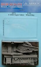 Aires 1/32 F-100D Super Sabre Wheel Bay for Trumpeter kit # 2072
