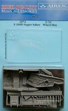 Aires 1/32 F-100D Super Sabre Wheel Bay for Trumpeter kit # 2072