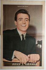 Billy J Kramer - 1960'S MAGAZINE CENTREFOLD POSTER