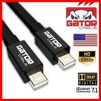 Thunderbolt to Thunderbolt Mini DisplayPort DP To Mini DisplayPort DP Cable 6FT