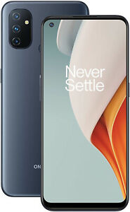 """New OnePlus Nord N100 Midnight Frost 6.52"""" 64GB Dual SIM 4G Android 10 Sim Free"""
