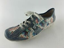 Remonte Damen Schuhe mehrfarbig Leder Hightech kombi Wechselfußbett Gr. 44 (UK 9