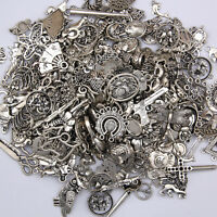 100g Tibetan Lot Wholesale Vintage Steampunk Mixed Keys Pendants DIY Craft