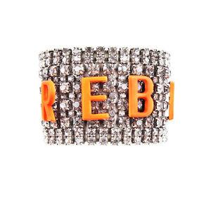 Tom Binns Neon REBEL Crystal Bracelet